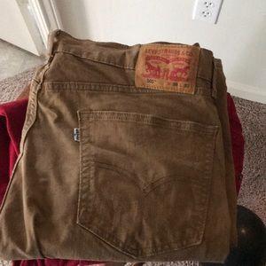 Dark khaki jeans